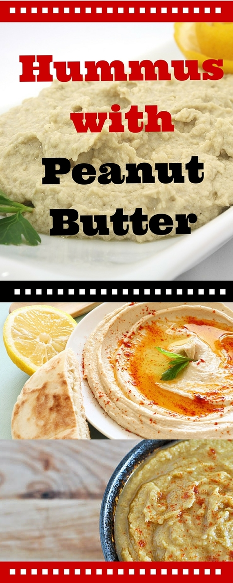 Easy Hummus Recipe with Peanut Butter | Best Easy Recipes | Scoop.it