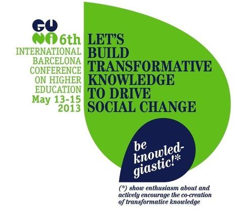 e-learning, conocimiento en red: 6th International Barcelona Conference on Higher Education Let's build transformative knowledge to drive social change | Notas de Gestión y Comunicación 2.0 | Scoop.it