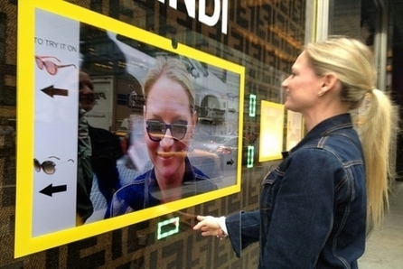 Bloomingdale's Lets Shoppers Virtually Try On Sunglasses On the Street | Retail Design and Technology | Scoop.it