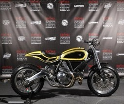 Eicma presents the Ducati Scrambler built by Radikal Chopper | Ductalk Ducati News | Scoop.it