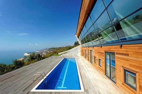 Casa pasiva proiectata sa profite la maxim de soare | Casa Pasiva | Passive House | Scoop.it