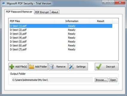 How to Protect PDF Files   Software Reviews   Scoop.it