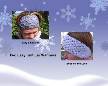 Free Pattern – Headband/Earwarmers | Knitting | CraftGossip.com