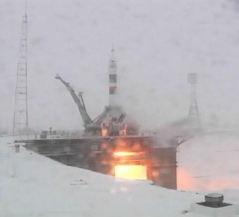 Lancement réussi du Soyouz TMA-22... dans des conditions impensables pour une navette spatiale | Space matters | Scoop.it