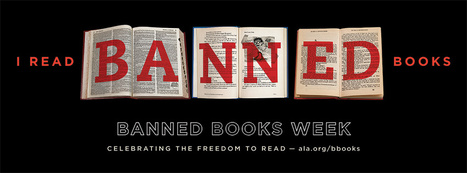 TLA Intellectual Freedom Committee annual Banned Books Display Contest Photo | Tennessee Libraries | Scoop.it