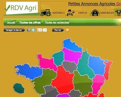 Les agriculteurs bosseurs ont leur site d'annonces! | RDV Agri, Actu des Professionnels de l'Agriculture. | Scoop.it