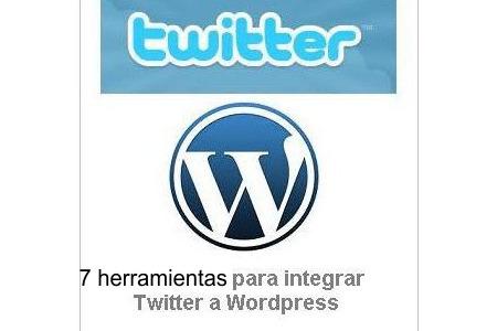 7 herramientas gratuitas para la integración de Twitter con su blog de Wordpress | Cofre Tecnologico | Las TIC y la Educación | Scoop.it