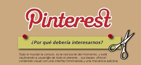 Pinterest ¿Por qué debería interesarnos? [Infografía] | SEO Y Social media marketing | Scoop.it
