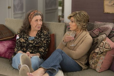 Grace and Frankie is the secret weapon in Netflix's comedy lineup | LGBT Movies, Theatre & FIlm | Scoop.it