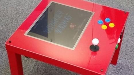 Create a Raspberry Pi arcade using IKEA's cheapest table   Games   Geek.com   Liseuses, tablettes et jeux videos   Scoop.it