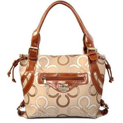 Coach Waverly Big C Large Khaki Totes EJF - £46.98 | I found the Bags Home | Scoop.it