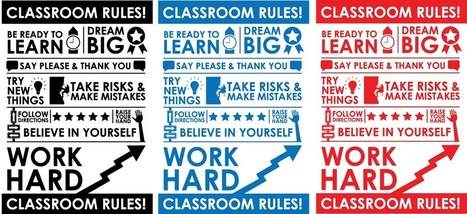 Twitter / dandesignthink: updated the classroom rules ... | In The Classroom | Scoop.it