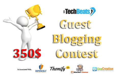 $400+ Guest Blogging Contest on TechBeats. Participate and Win | $400 Guest Blogging COntest | Scoop.it