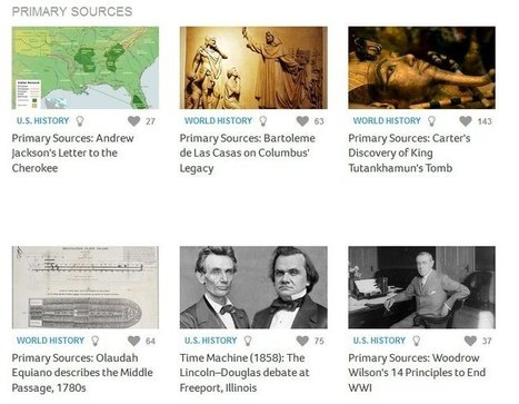 "Newsela Unveils Exceptional Library Of Primary Sources Edited For Different ""Levels"" 