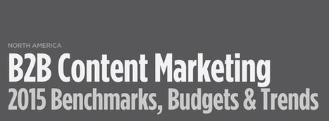 2015 B2B Content Marketing Benchmarks, Budgets and Trends | Content Marketing & Content Strategy | Scoop.it