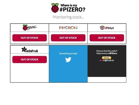Looking for a Pi Zero? Check here! #PiZero #Piday #raspberrypi @Raspberry_Pi | Raspberry Pi | Scoop.it
