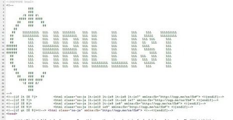 Tweet from @TheNextCorner | ASCII Art | Scoop.it