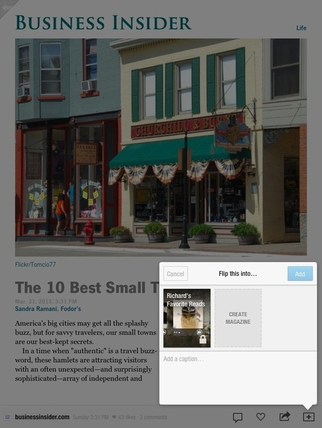 Free Technology for Teachers: Create Your Own iPad Magazine on Flipboard | iPads in Education | Technology in Art And Education | Scoop.it