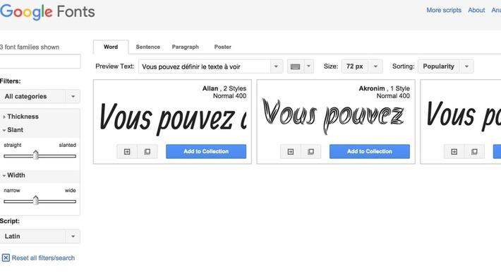 Google Fonts vous offre des typos gratuites - Les Outils Google | TIC et TICE mais... en français | Scoop.it
