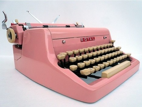 1950s Royal Typewriter | Creative Writing Inspiration | Scoop.it
