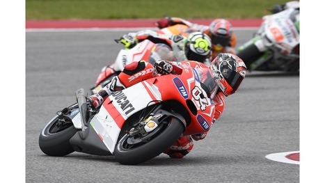 MotoGP - GP of the Americas: Dovizioso takes Ducati back to the podium with third place as Crutchlow crashes out | Ductalk Ducati News | Scoop.it