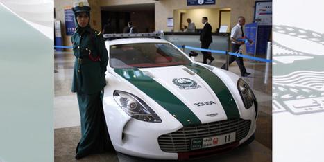 Une Aston One-77 pour la police de Dubaï - actualité automobile - Motorlegend | Vroum Vrouumm | Scoop.it