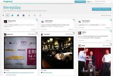 Tagboard, un moteur de recherche spécialisé dans les hashtags   Blueboat : E-réputation   Communication 2.0 et réseaux sociaux   Scoop.it