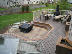 Designing a Patio With Easy To Install Interlocking Outdoor Deck Tiles   Composite Decking and Railing   Scoop.it