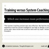 Infographic: Training vs System Coaching | infogr.am | Learning & development | Scoop.it