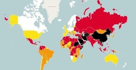 La libertad de prensa en el mundo en un mapa interactivo | Participacion 2.0 y TIC | Scoop.it