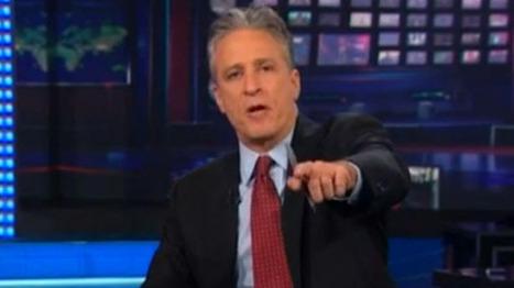 Jon Stewart mocks 'bullsh*t mountain' Fox News over secret Romney video | Daily Crew | Scoop.it