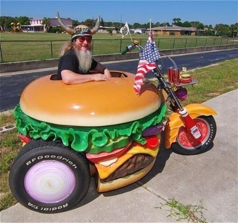 Hamburger Harry - The World's Biggest Burger Fan | Strange days indeed... | Scoop.it