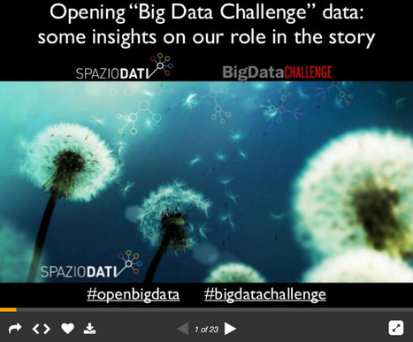Open Big Data: retroscena sugli Open Data della Big Data Challenge - Pionero - Digital Innovation | Data Science 4 Public Sector Information | Scoop.it