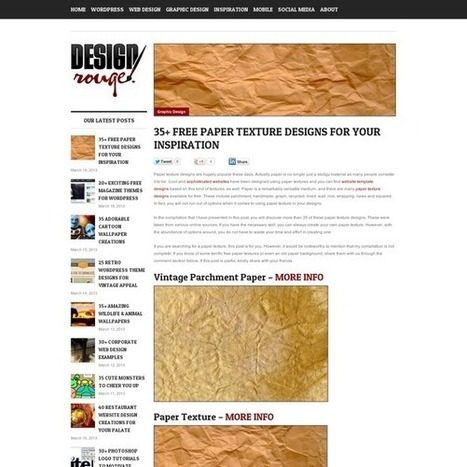 35+ Free Paper Texture Designs For Your Inspiration | Axxcom | Scoop.it