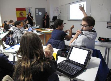 Sèvres  : 250 collégiens démarrent une nouvelle vie sur tablette | Tablettes numériques | Scoop.it