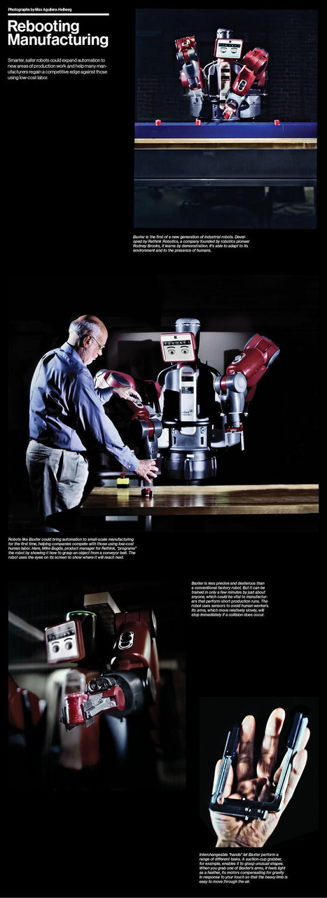 Rebooting Manufacturing | Robots and Robotics | Scoop.it