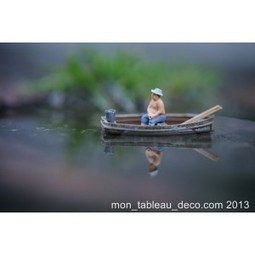 Le pêcheur - Miniature - mon-tableau-deco.com | Photographie | Scoop.it