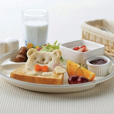 Toast Stamp Transforms Bread Into Adorable Teddy Bears | r | Scoop.it