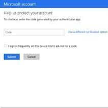 Microsoft succomberait bientôt à la double authentification   Libertés Numériques   Scoop.it