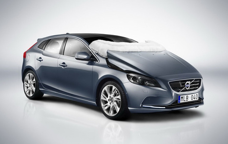 volvo v40 helps save lives with deployable pedestrian airbags | What Surrounds You | Scoop.it