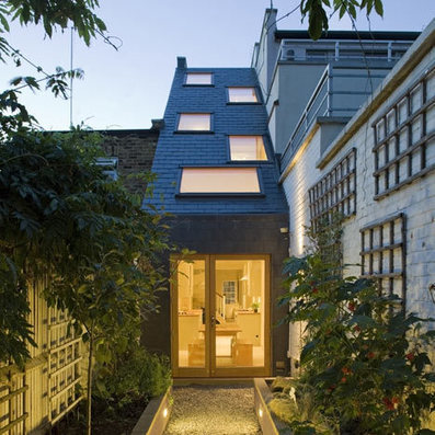 SKINNY house: a narrow home sandwiched between two London townhouses | The Architecture of the City | Scoop.it
