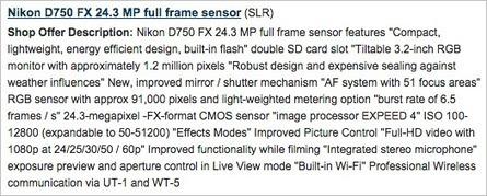 Nikon D750 specifications leaked online | Nikon Rumors | 100% e-Media | Scoop.it