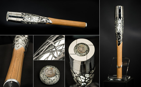 Baton for the XX Commonwealth Games Combines Cutting-Edge 3D-Printed Titanium with a Millenium-Old Woodworking Technique | Art, Design & Technology | Scoop.it