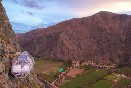 """""""Hang Out"""" In These Extraordinary Peruvian Sky Pods   PROYECTO ESPACIOS   Scoop.it"""