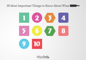 10 Most Important Things To Know About Wine | Wine Folly | Vinitours | Scoop.it
