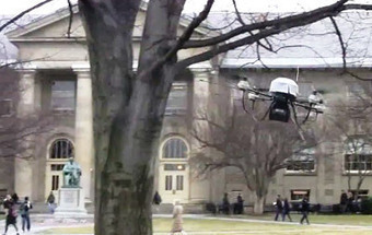 Cornell Chronicle: Flying robot avoids obstacles | Post-Sapiens, les êtres technologiques | Scoop.it