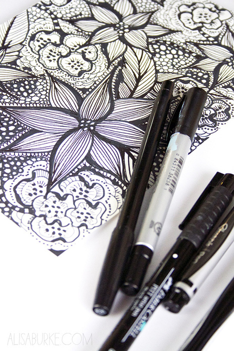 alisaburke: a peek inside my sketchbook- oodles of doodles | Zentangle inspired art | Scoop.it