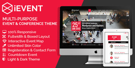 iEVENT - Event & Conference HTML Template (Business) Download   Wordpress Themes Download   Scoop.it
