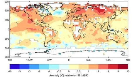 Climate change: 2015 'shattered' global temperature record by wide margin - BBC News | Intermediate news | Scoop.it