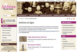 GénéInfos: Pas-de-Calais : lancement de l'état civil en ligne le 2 avril | Rhit Genealogie | Scoop.it